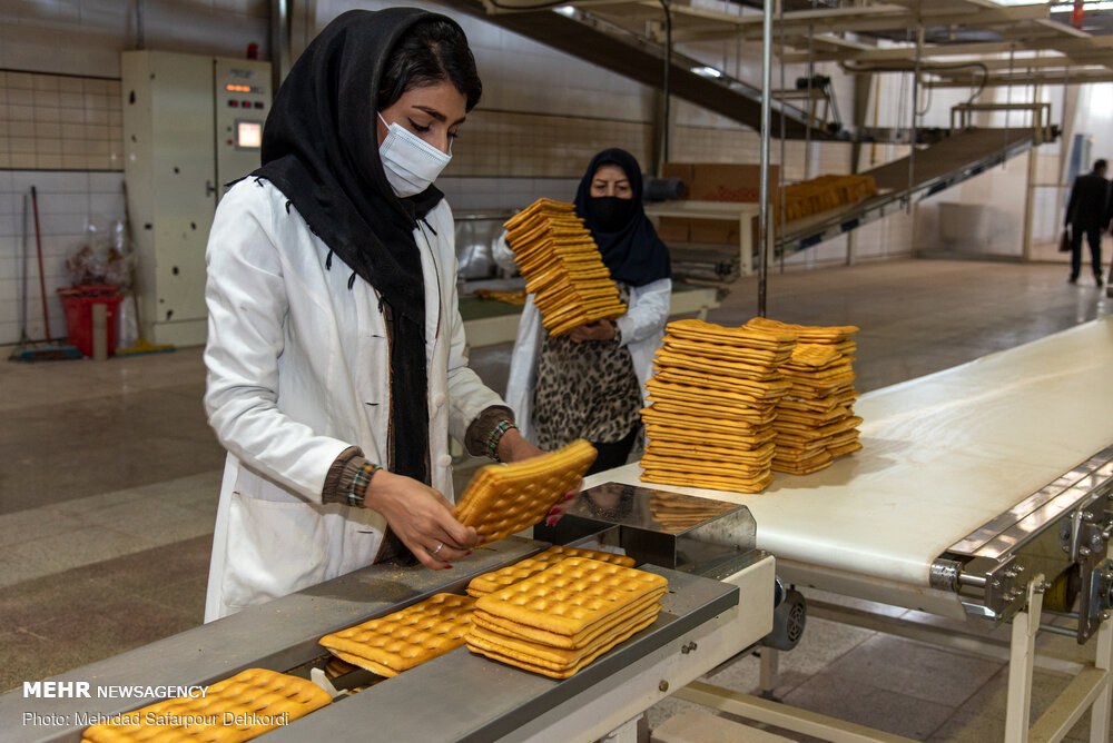 مراحل تولید نان صنعتی