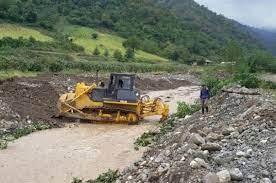آسیب  صنعت معادن شن و ماسه به رودخانه ها